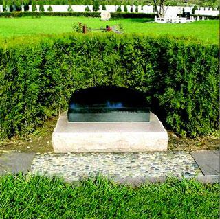 欧式艺术墓